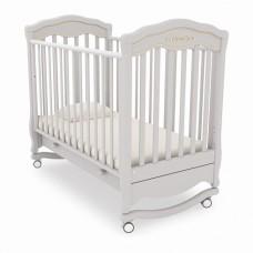 """Детская кроватка Гандылян """"Шарлотта"""" Люкс (колесо/качалка)"""