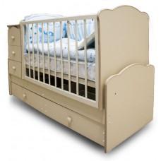 Детская кроватка-трансформер Антошка с маятником Можгинский лесокомбинат