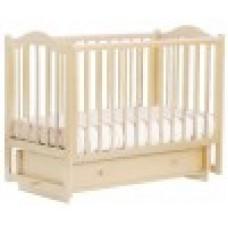 Детская кроватка Кубаньлесстрой БИ 37.2 Кубаночка-1 маятник поперечный