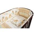 """Комплект для кроватки Nuovita """"Gufi"""", 6 предметов."""