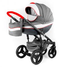 Детская коляска Adamex Monte Delux Carbon 3 в1