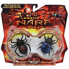 Игровой набор 'Паук Venovaar и Жук Megaphas', Legend of Nara [501428]