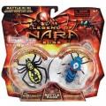 501435 Legend of Nara Игрушка насекомые Черная вдова - Оса. В упаковке 2 шт / Legend of Nara