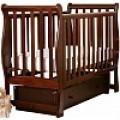 Детская кроватка Кубаньлесстрой Лаванда АБ 21.2 (маятник поперечный)
