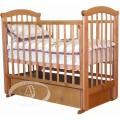 Детская кроватка Можга (Красная Звезда) Ирина С-625 (маятник поперечный)