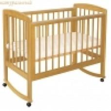 Кроватка Лель (Кубаньлесстрой) АБ 16 Ромашка (качалка)
