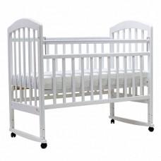 Детская кроватка Лира 2 колесо качалка
