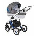 Детская коляска Adamex Gloria Rainbow 2 в 1