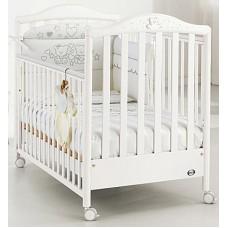 Кровать Pali Little Star Prestige White 125х65 см
