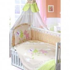Бампер в кроватку Золотой Гусь Little Friend