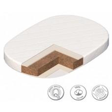 Матрас для овальной кроватки 65*65см Angela Bella Классик
