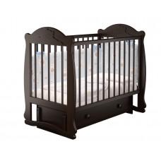 """Кровать детская """"Мишутка 3"""" (Базовая + маятник с ящиком) Можгинский лесокомбинат"""