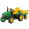 Электромобиль Peg Perego John Deere Ground Force w/trailer