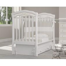 Детская кроватка Гандылян Шарлотта Люкс (с маятниковым механизмом)