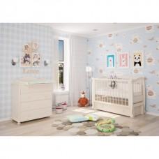 Детская кроватка Можгинский лесокомбинат Алиса продольный маятник