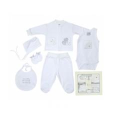 Набор одежды для детей FIMBABY 200074 от 0 до 6 мес. 6 предметов