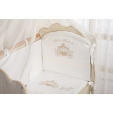 Комплект в кроватку для новорожденного «Маленькое Высочество» Арт. 98