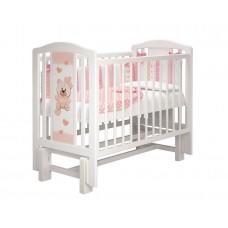 """Кровать детская """"Тедди 2"""" (Базовая + маятник без ящика) Можгинский лесокомбинат"""