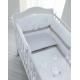 Набор белья Pali Ariel белый/песочный 3 предмета