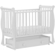 Детская кроватка Лель АБ 21.4 «Лаванда» (универсальный маятник)