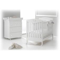 Детская кроватка Erbesi Cuoricino