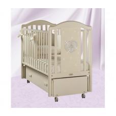 Детская кроватка-маятник продольный Feretti Mon Amour Swing