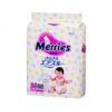 Подгузники Merries 6-11 кг, 62 шт