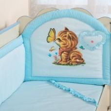 Комплект в кроватку ( с муз.игрушкой) С 17