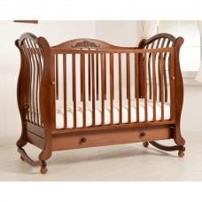 Детская кровать Гандылян Габриэлла (колесо/качалка)