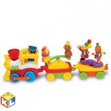 Развивающая игрушка Цирковой поезд Kiddieland KID 041590