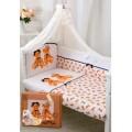 Комплект в кроватку Золотой Гусь Королевские мишки 7 предметов